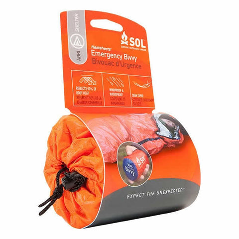 AMK SOL Emergency Bivvy Survival Bag in use