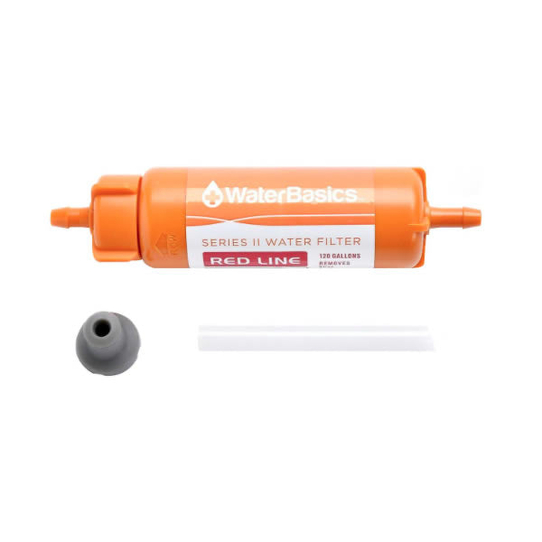 Aquamira Red Line Filter all parts