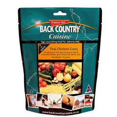 Back Country Cuisine Thai Chicken Curry Freeze Dried Meal - Double Serve