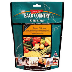 Back Country Cuisine Roast Chicken Freeze Dried Meal - Double Serve