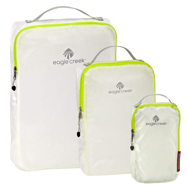 Eagle Creek Pack-It Specter Cube Set - 3 packing cubes white/strobe