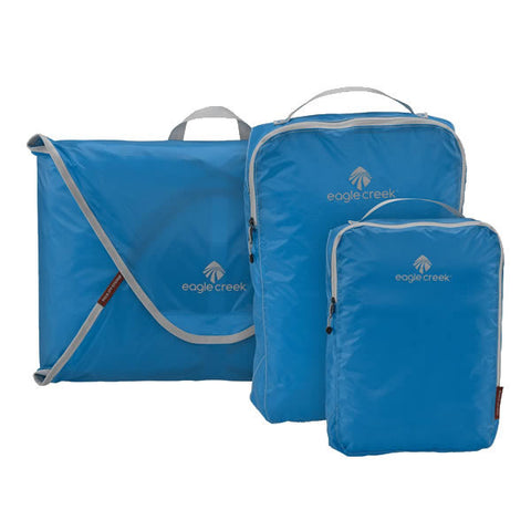 Eagle Creek Pack-It Specter Starter Set - shirt folders and packing cubes Brilliant Blue