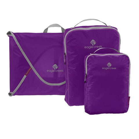 Eagle Creek Pack-It Specter Starter Set - shirt folders and packing cubes Grape