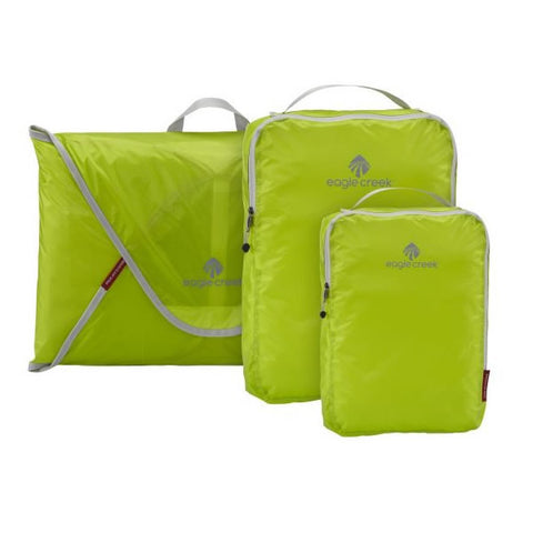 Eagle Creek Pack-It Specter Starter Set - shirt folders and packing cubes Strobe Green