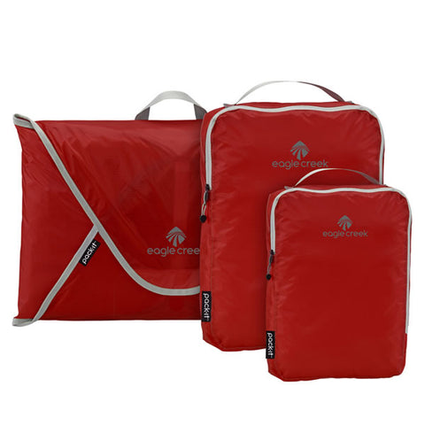 Eagle Creek Pack-It Specter Starter Set Volcano Red
