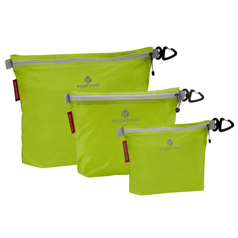 Eagle Creek Pack-It Specter Sac Set - 3 packing sacs strobe green