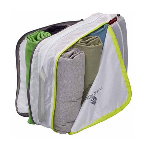 Eagle Creek Pack-It Specter Clean Dirty Cube - medium packing cell white strobe green