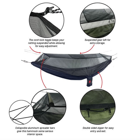 Grand Trunk Skeeter Beeter XT Bug Free Hammock features