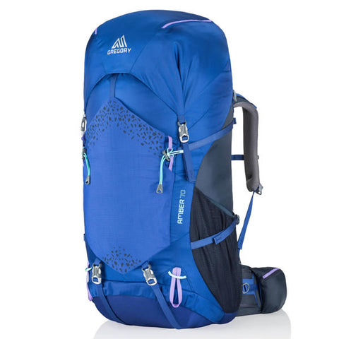 Gregory Amber 70 Litre Women's Hiking Backpack Pearl Blue