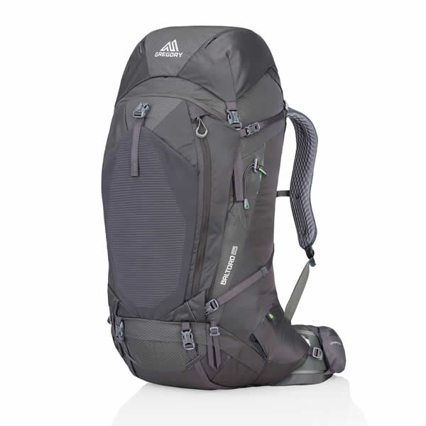 Gregory Baltoro 65 Litre Hiking Backpack Onyx Black