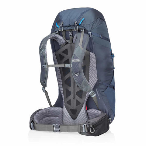Gregory Baltoro 75 Litre Hiking Backpack dusk blue suspension