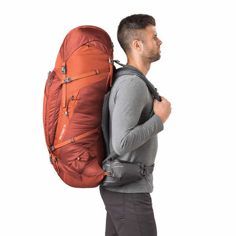 Gregory Baltoro 75 Litre Hiking Backpack in use