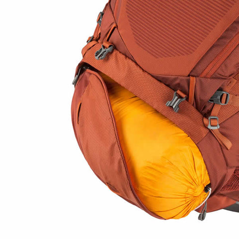 Gregory Baltoro 75 Litre Hiking Backpack sleeping bag compartment