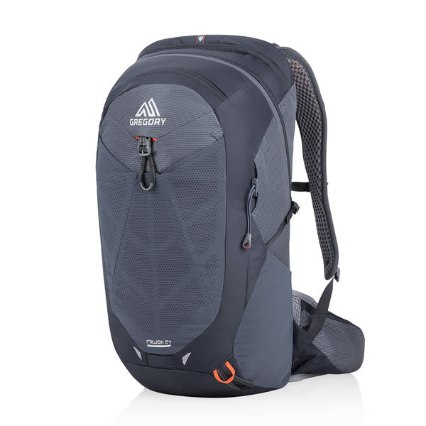 Gregory Miwok Men's 24 Litre Hiking Daypack Flame Black