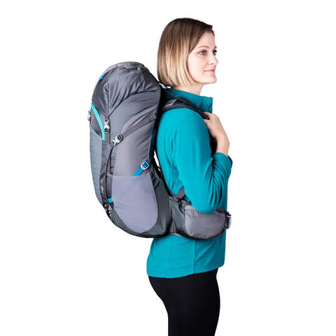 Gregory Jade 38 Women's Backpack in use side view