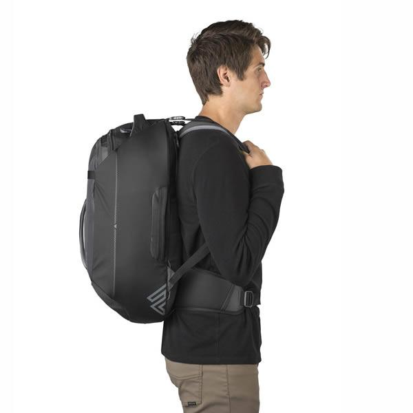 Gregory Praxus Men's 45 Litre Carry On Backpack in use