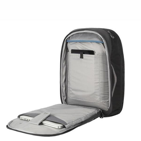 Gregory Border 35 Litre Carry On Backpack with Laptop and Tablet Sleeve open