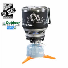 Jetboil Minimo Stove Cooking System Backpacker Editor's Choice Award and Outdoor Gear Lab Top Pick