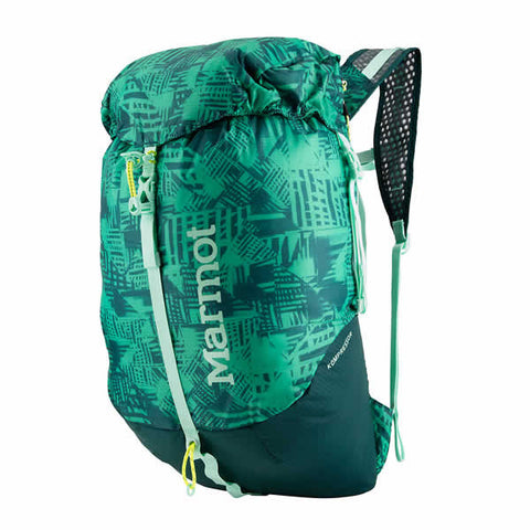 Marmot Kompressor 18 Litre Packable Day Pack turf green / deep teal