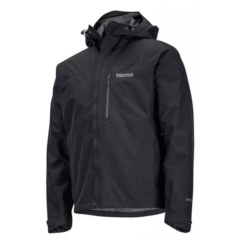 Marmot Men's Minimalist Jacket Goretex Paclite Black side view