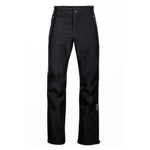 Marmot Men's Minimalist Pants Goretex Paclite Black front view