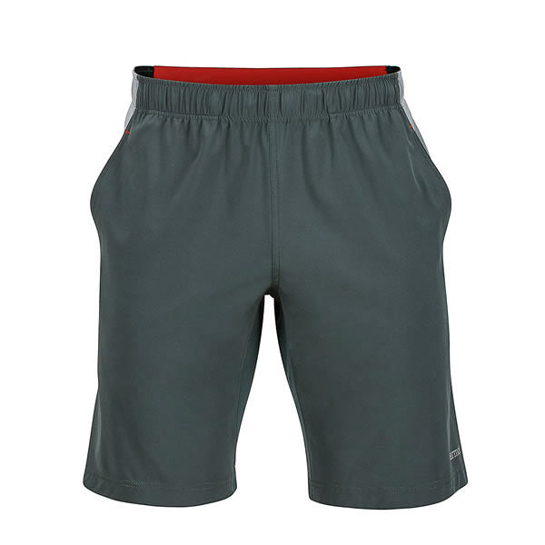"Marmot Men's 10"" Zephyr Short - Lightweight, Quick-dry Active Shorts Front View Dark Zinc / Grey Storm"