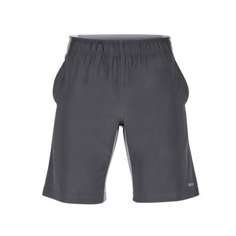 Marmot Mens Zephyr Shorts Slate Grey Grey Storm Front View