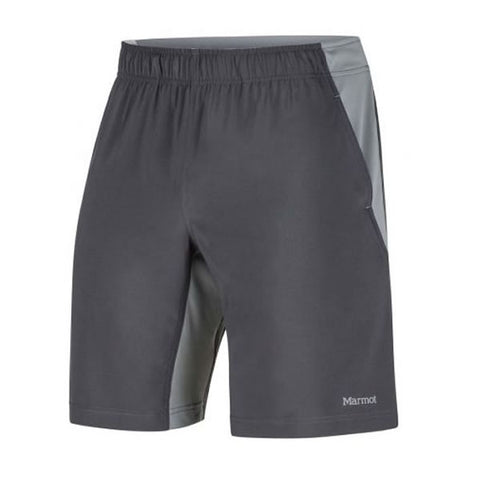Marmot Mens Zephyr Shorts Slate Grey Grey Storm side View