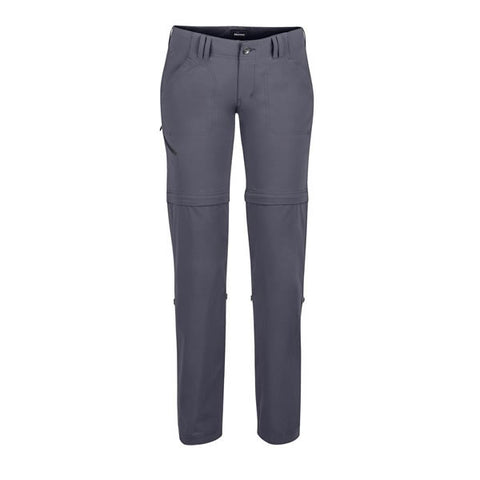 Marmot Lobo's Women's Convertible Pants dark charcoal
