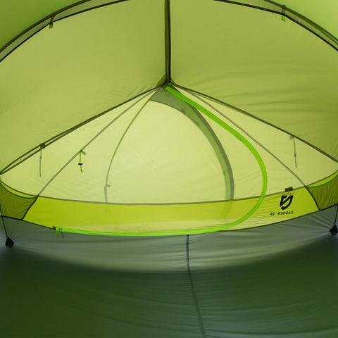 Nemo Dagger 2P Ultralight Backpacking Tent interior view