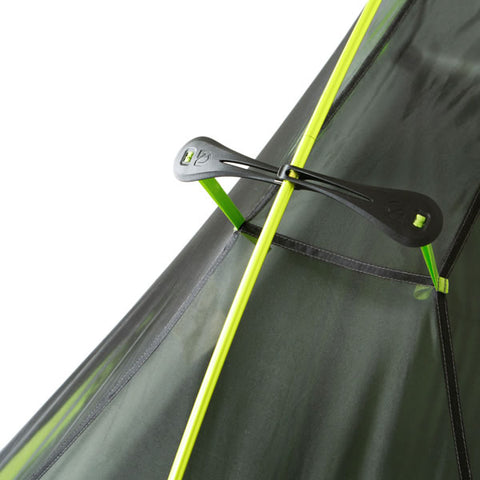 Nemo Hornet 2 Person Ultralight Hiking Tent flybar for increased headroom