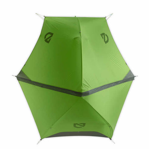 Nemo Hornet 2 Person Ultralight Hiking Tent fly top view