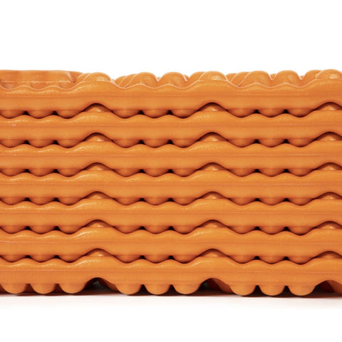 Nemo Switchback accordian closing closed cell foam pad closeup