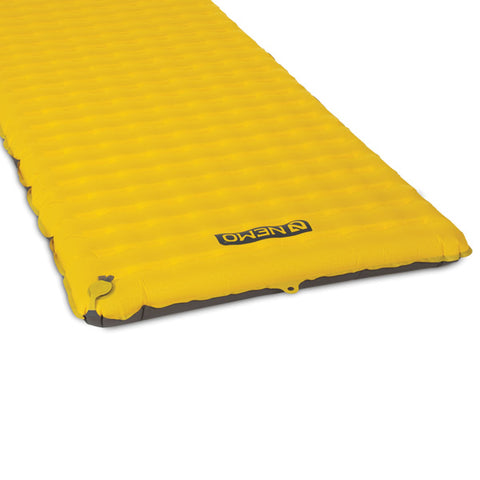 Nemo Tensor Inflatable Sleeping Mat Long Wide end view