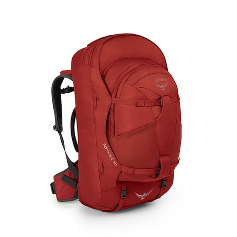 Osprey Farpoint 70 Litre Travel Backpack Jasper Red