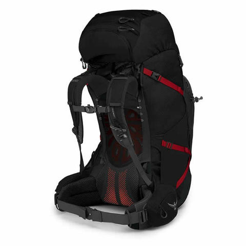Osprey Aether Plus 85 Litre Men's Hiking Backpack Black