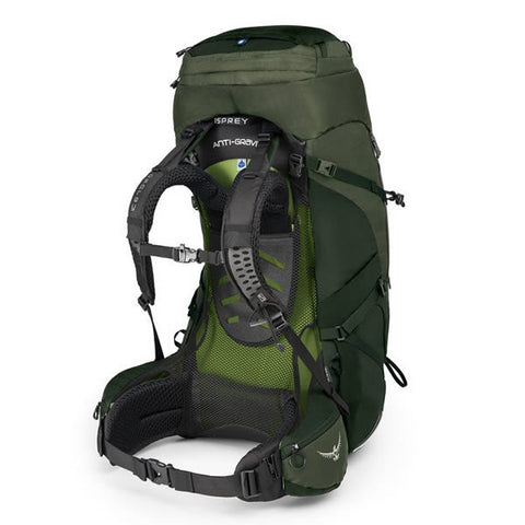 Osprey Aether AG Men's 85 Litre Hiking / Mountaineering Backpack with Raincover harness