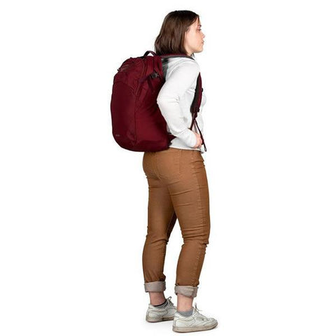 Osprey Aphelia Women's 26 Litre Daypack with Laptop Sleeve in use