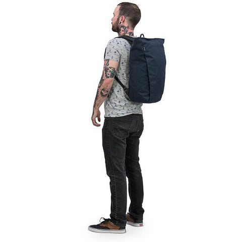 Osprey Arcane Large Zip Top Commute Daypack in use