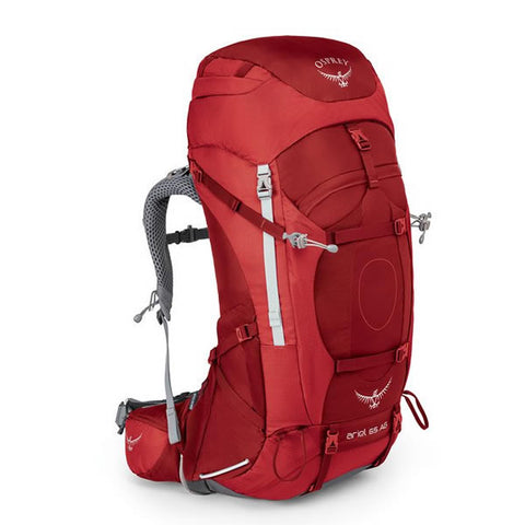 Osprey Ariel AG 65 Litre Picante Red