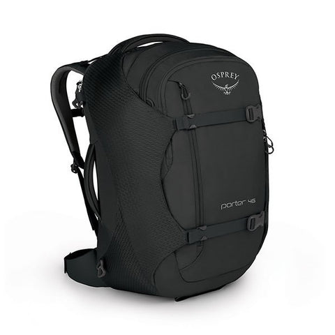 Osprey Porter 46 Litre Travel Backpack Black
