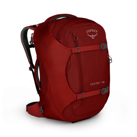 Osprey Porter 46 Litre Travel Backpack Diablo Red