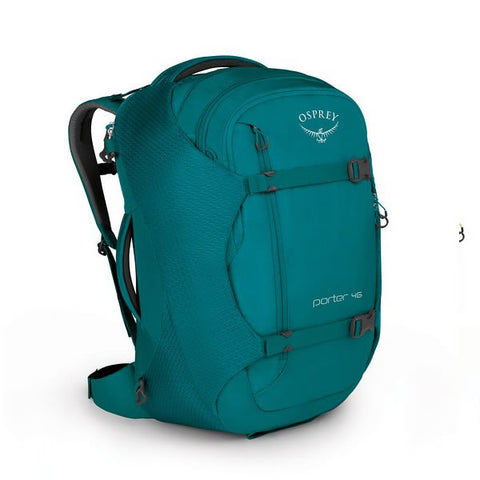 Osprey Porter 46 Litre Travel Backpack Mineral Teal