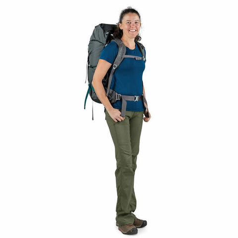 Osprey Renn Women's Hiking Backpack in use side view