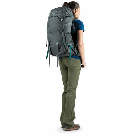 Osprey Renn Women's Hiking Backpack in use rear view