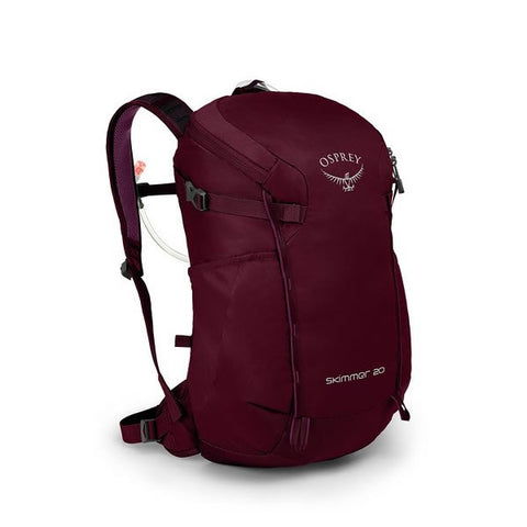 Osprey Skimmer Women's 20 Litre Hydration Backpack plum red