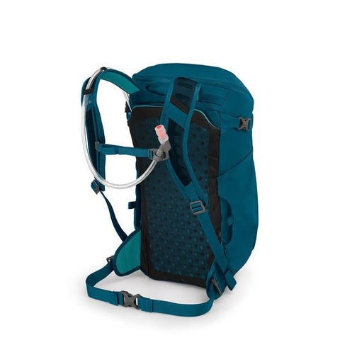 Osprey Skimmer Women's 20 Litre Hydration Backpack Sapphire Blue harness