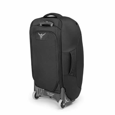 Osprey Sojourn 80 Litre Wheeled Travel Backpack Flash Black rear view