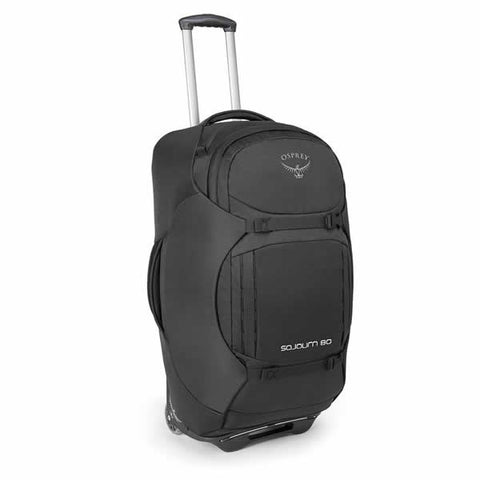 Osprey Sojourn 80 Litre Wheeled Travel Backpack Flash Black