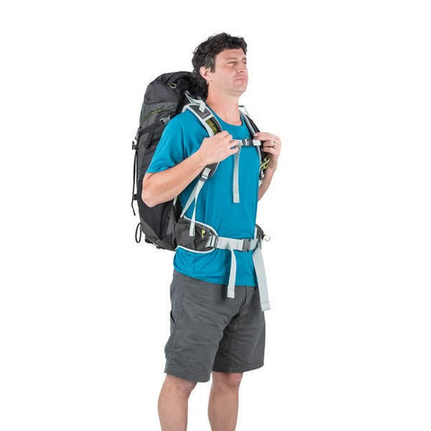 Osprey Stratos 36 Litre Men's Daypack front view in use